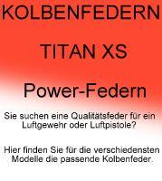 KOLBENFEDERN TitanXS Powerfedern