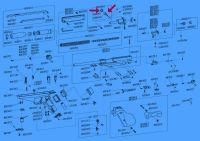 Triebschraube links-rechts (komplett)  FEINWERKBAU LP90