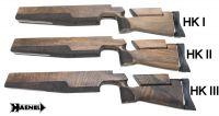 Schaft -Luxus- (NEUFERTIGUNG) für Rechtsschützen HAENEL / SUHL M-150 u. M-150/1 (höhen-u. seitenverstellbar!)