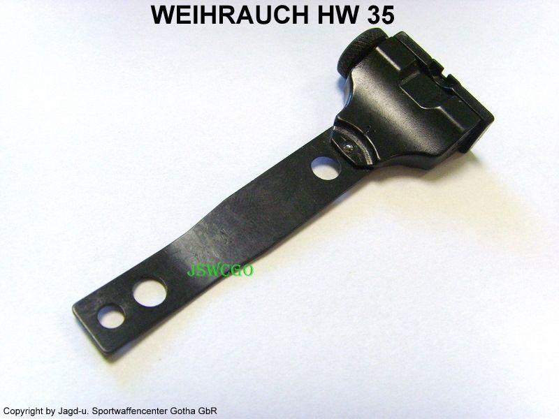 Weihrauch hw35 ersatzteile kimmenblatt mikrometervisier kimme