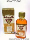 Original SCHERELLs Schaftol PREMIUM GOLD mit Applikations-Schwamm 50ml