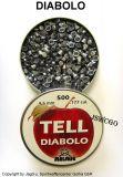 AKAH >Tell< Diabolo 4,5mm (500 Stk.)