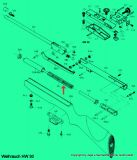 Kolbenfeder (Standard-F-)  Weihrauch HW30