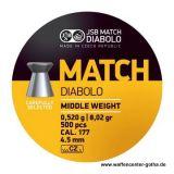 JSB >Match - Middle Weight< Diabolo 4,5mm (500 Stk.)