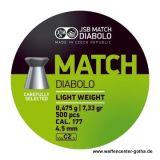 JSB >Match - Light Weight< Diabolo 4,5mm (500 Stk.)