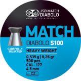 JSB >Match - Heavy Weight< Diabolo 4,5mm (500 Stk.)