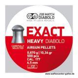 JSB >Exact - Heavy< Diabolo 4,52mm (500 Stk.)