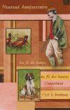 Geburtstagskarte >JAGD< Glückwunschkarte (mit französischem Text)