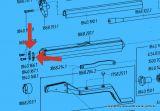 >Abschlussblech (Stärke 2,0mm / 2,25mm / 2,5mm)< Feinwerkbau LP 102