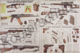 Waffenposter / Teilezeichnung >KALASCHNIKOV - MAKAROV - SIMONOV - DRAGUNOV< 120x80cm
