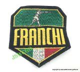 Aufnäher >FRANCHI< 85mm x 90mm