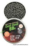 H&N >Dust Devil BBs< Rundkugeln 4,5mm (750 Stk.) >bleifrei